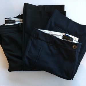 2 pairs of Size 12 Talbots Pants- perfect for work